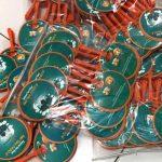 Cetak Kipas Plastik PVC Japfa Selamat Idul Fitri 1440 H
