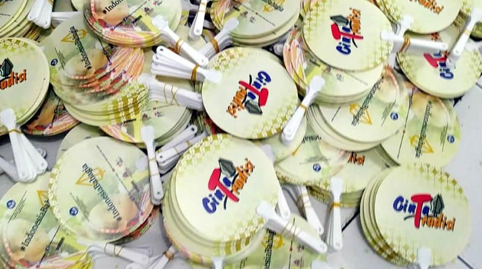 Cetak Kipas PVC Cinta Tradisi Kementrian Kementerian Pendidikan dan Kebudayaan